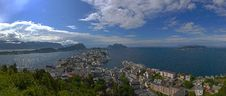 Free Panorama Of Alesund Royalty Free Stock Photos - 20394738
