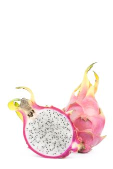 Free Cut Dragon Fruit Royalty Free Stock Photo - 20395055