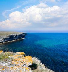Free Summer Landscape On Sea Coast Stock Image - 20395351