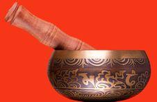 Free Tibetan Singing Bowl Stock Photo - 20395400