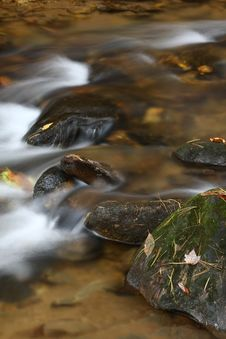 Free Rapids In The River In Autumn Stock Image - 20396151
