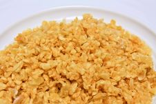 Free Fried Garlic Stock Photo - 20396380