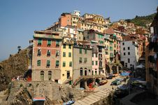 Free Italy At It S Best, Beautiful Riomaggiore. Stock Photos - 20396853
