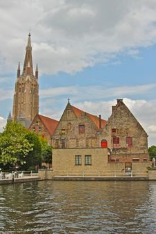 Free Scenic View Of Brugge Stock Photography - 20396912