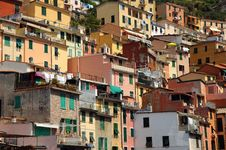Free Italy Colourful Riomaggiore Royalty Free Stock Images - 20396949
