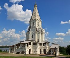 Free Church Of The Ascension Of The Lord In Kolomna Royalty Free Stock Photography - 20397457