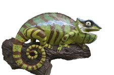 Free Chameleons Statue Royalty Free Stock Photography - 20397967