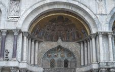 Free Fragment Of St Mark S Basilica In Venice Royalty Free Stock Image - 20398026