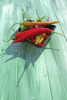 Free Assorted Chillies Royalty Free Stock Photography - 20398747
