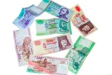 Free Hungarian Forints Isolated Royalty Free Stock Photography - 20399127