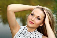 Free Portrait Beautiful Blonde Royalty Free Stock Photo - 20399385