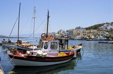 Free Crete Harbour Royalty Free Stock Photography - 2040047