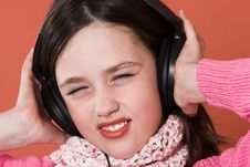 Free Girl Listening Music Stock Photos - 2040243