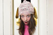 Free Girl Panic Royalty Free Stock Images - 2040679