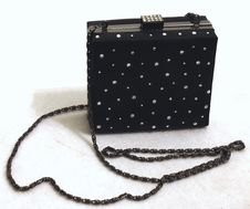 Free Black Evening Bag Stock Photo - 2041580