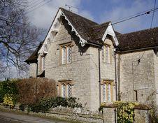Free English Village Cottage Royalty Free Stock Image - 2041986