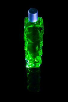 Free Green Bottle Royalty Free Stock Photo - 2043775