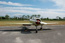 Free Yak 52 Soviet Made Acrobatic Airplane Royalty Free Stock Photo - 2048035