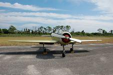 Free Yak 52 Soviet Made Acrobatic Airplane Royalty Free Stock Photo - 2048035