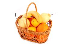 Free Fruits In Basket Stock Images - 2048204