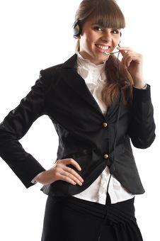 Free Beautiful Customer Representative Stock Image - 2048491