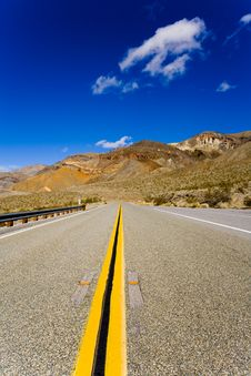 Free Death Valley Road Stock Image - 2048681