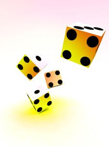 Free Dice 68 Stock Images - 2048684