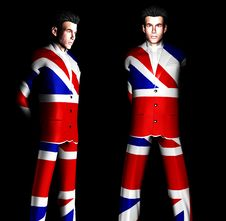 Free UK Man Suit 15 Stock Image - 2048891