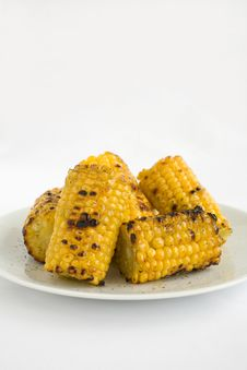 Free Corn Grilled Stock Photography - 2049462