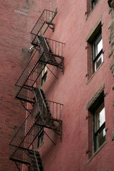 Free Back Fire Escape Stock Photos - 2049893
