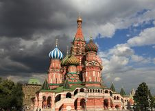 Free St. Basil Cathedral. Moscow, Russia, Red Square Stock Images - 20400034