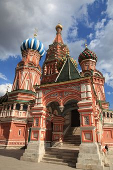 Free St. Basil Cathedral. Moscow, Russia, Red Square Royalty Free Stock Photos - 20400038