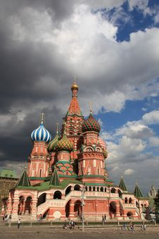 Free St. Basil Cathedral. Moscow, Russia, Red Square Royalty Free Stock Images - 20400049