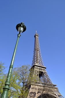 Free The Eiffel Tower Stock Photography - 20400792