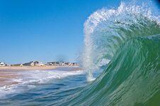 Free Wave Crash Stock Photo - 20402530