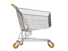 Free Shopping Carts Isolated Royalty Free Stock Image - 20402686