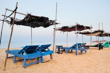 Free Exotic Parasols Royalty Free Stock Photos - 20403898