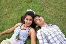 Free Lover Park Romantic Garden Thailand Stock Images - 20404134