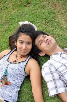 Free Lover Park Romantic Thailand Garden Stock Image - 20404181