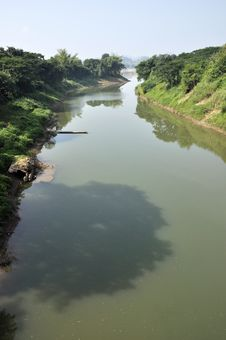 Free Still River Thailand Day Rural Royalty Free Stock Photo - 20404305