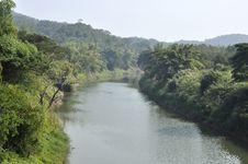 Free Still River Thailand Rural Day Mountain Royalty Free Stock Photo - 20404345
