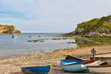 Free Lulworth Cove. Stock Image - 20404941