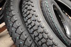 Free Tires Royalty Free Stock Photography - 20405067