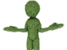 Free Grass Man Royalty Free Stock Image - 20405276