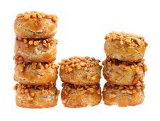 Free Coated Peanut Cookie Stock Photo - 20405800