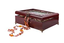 Casket With Jewelry