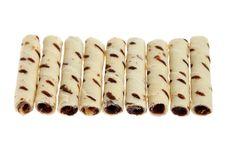 Free Milk Chocolate Scroll Royalty Free Stock Image - 20405886