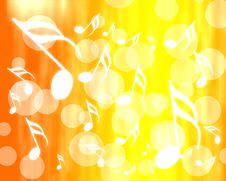 Free Abstract Musical Background Stock Images - 20405994
