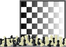 Free Chess And Chess Board Royalty Free Stock Photography - 20406127