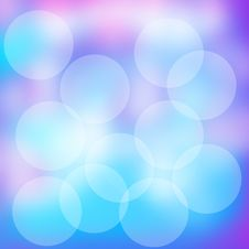 Free Blue Bubbles Royalty Free Stock Images - 20406289